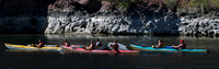 Kayaking the Colorado River in October
