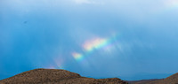 Rainbow over Giipson Hills Red Rock-1
