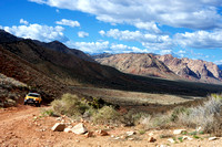 Red Rock Canyon from Old Spanish Trail